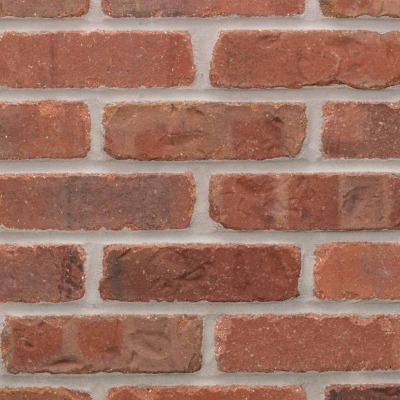 Providence General Shale Appalachian 2-1/4 In. x 7-5/8 In. x 1/2 In. Thin Brick Flats Facing Brick
