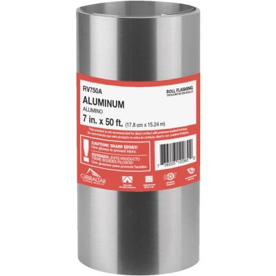 NorWesco 7 In. x 50 Ft. Mill Aluminum Roll Valley Flashing