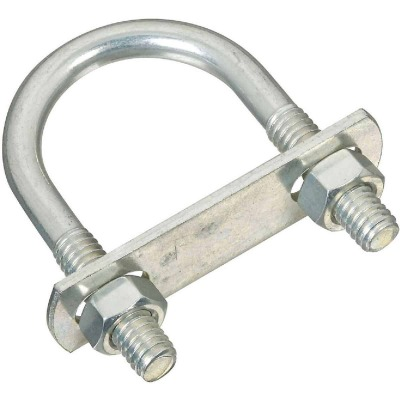 National 5/16 In. x 1-3/8 In. x 2-1/2 In. Zinc Round U Bolt