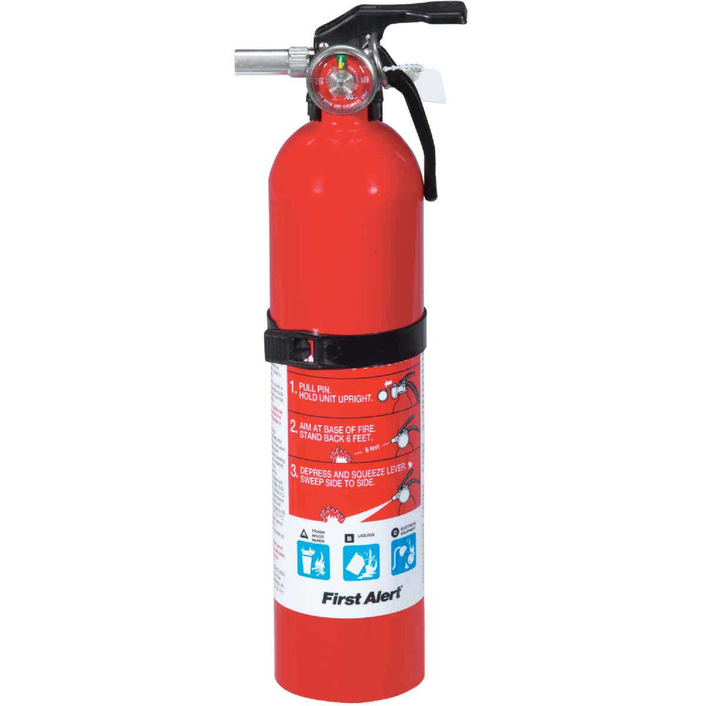 First Alert 1-A:10-B:C Rechargeable Home Fire Extinguisher Image 1