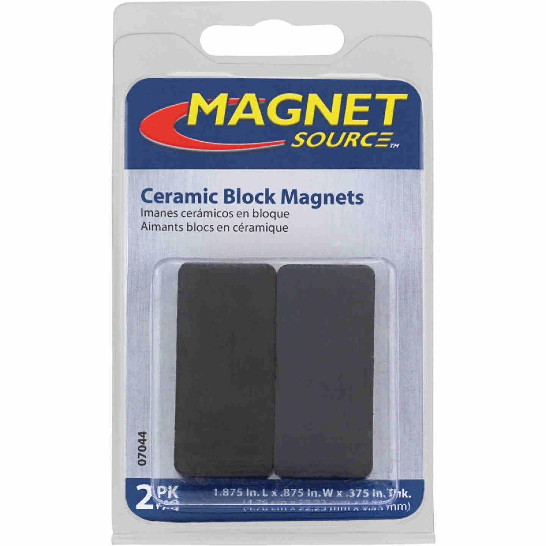Master Magnetics 1-7/8 in. x 7/8 in. Ceramic Magnet Block Image 2