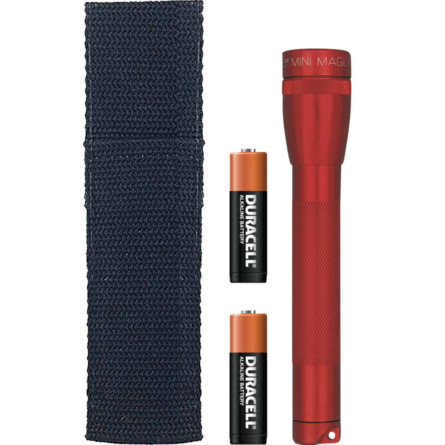 Maglite 14 Lm. Xenon 2AA Flashlight, Red Image 1